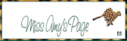MIss Amy's Page